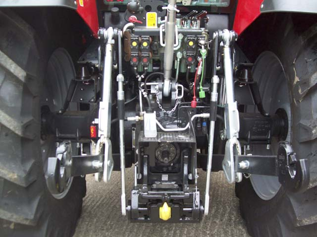 Tractor Front Suspension : Same iron dcr tractor