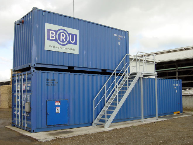 Latest Seperator Technology from BRU (Bedding Recovery Unit)